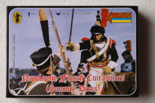Strelets 1/72 ST0094 French Cuirassiers in Summer Uniform (Napoleonic)